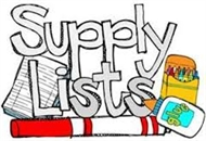 2017-18 Supply List